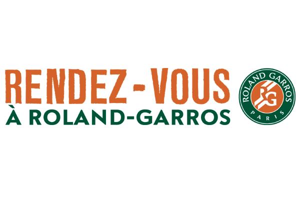 Rendez-vous à Roland-Garros !